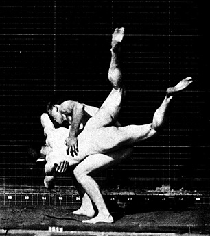 Image of Two Wrestlers by Eadweard Muybridge